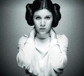 Carrie Fisher...